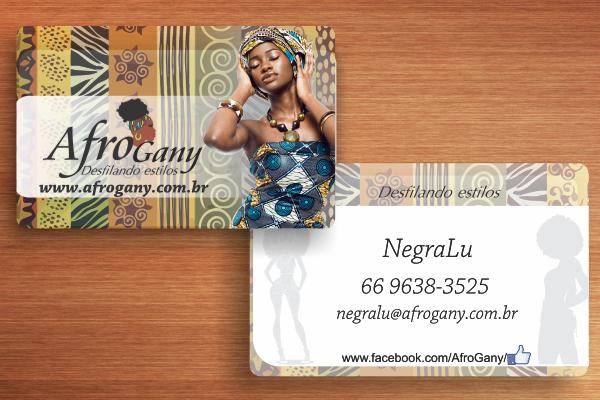 Cartão de Visita - AfroGany